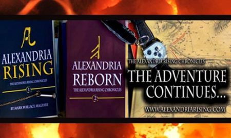 Alexandria Rising Mark Wallace Maguire Book Of The Day